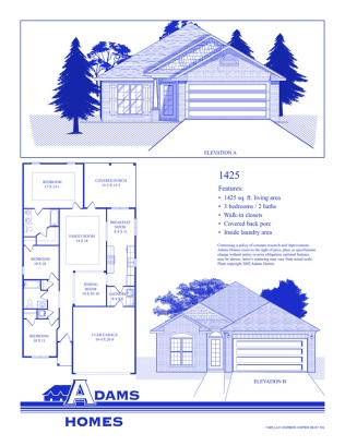 Bermuda Lakes Floor Plans Adams Homes LLC Acopia Home Loans