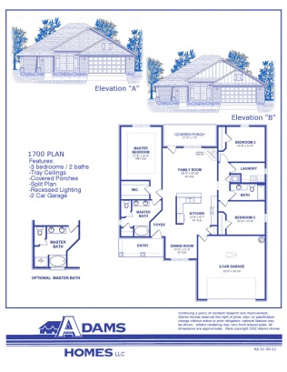 Adams home plans alabama.
