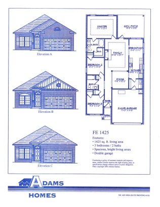Four Seasons Farms Floor Plans Adams Homes Spartanburg
