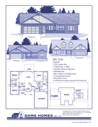 Walnut Ridge Floor Plans Adams Homes Spartanburg